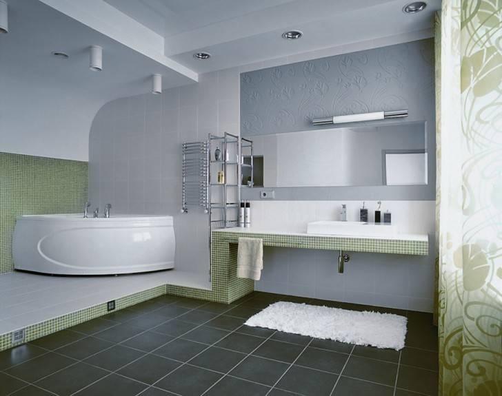 Bathroom Ideas: Frameless Bathroom Wall Mirrors With Single Sink In Frameless Bathroom Wall Mirrors (#6 of 15)