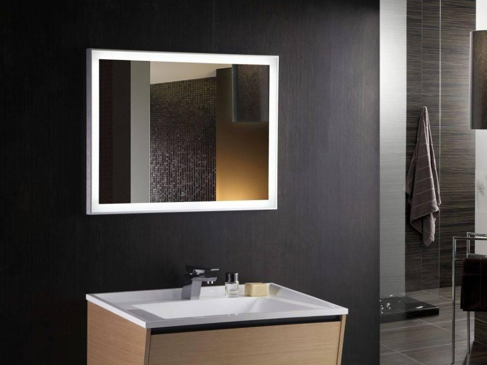 Bathroom : Lighted Bathroom Mirror 28 Light Up Vanity Mirror Throughout Bathroom Lighted Vanity Mirrors (#7 of 15)