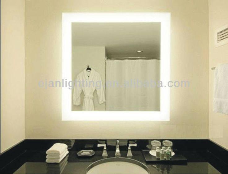 Bathroom Lighting: Awesome Bathroom Mirrors With Led Lights Intended For Led Lit Bathroom Mirrors (#2 of 15)