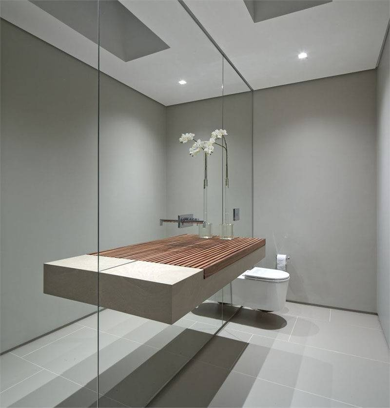 Bathroom Mirror Ideas – Fill The Whole Wall | Contemporist Regarding Bathroom Full Wall Mirrors (#7 of 15)
