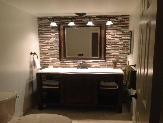 Bathroom Mirror Lighting Ideas Bathroom Over Mirror Lighting Pertaining To Bathroom Mirrors Lights (#2 of 15)