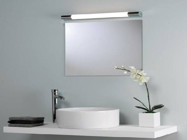 Bathroom Mirrors And Lights For Amazing Bathroom Mirror Lighting Ideas Regarding Lights For Bathroom Mirrors (#8 of 15)