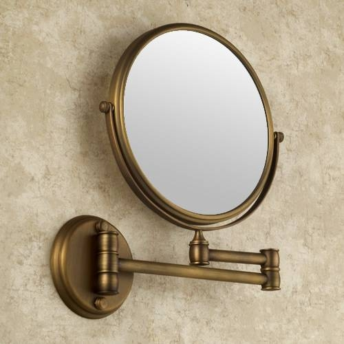 Bathroom Mirrors : Faucetsmarket Providing Best Products With Within Magnifying Wall Mirrors For Bathroom (View 15 of 15)