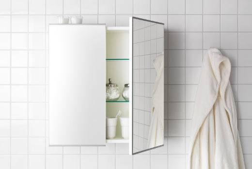 Bathroom Mirrors – Ikea With Ikea Wall Mirrors (#2 of 15)