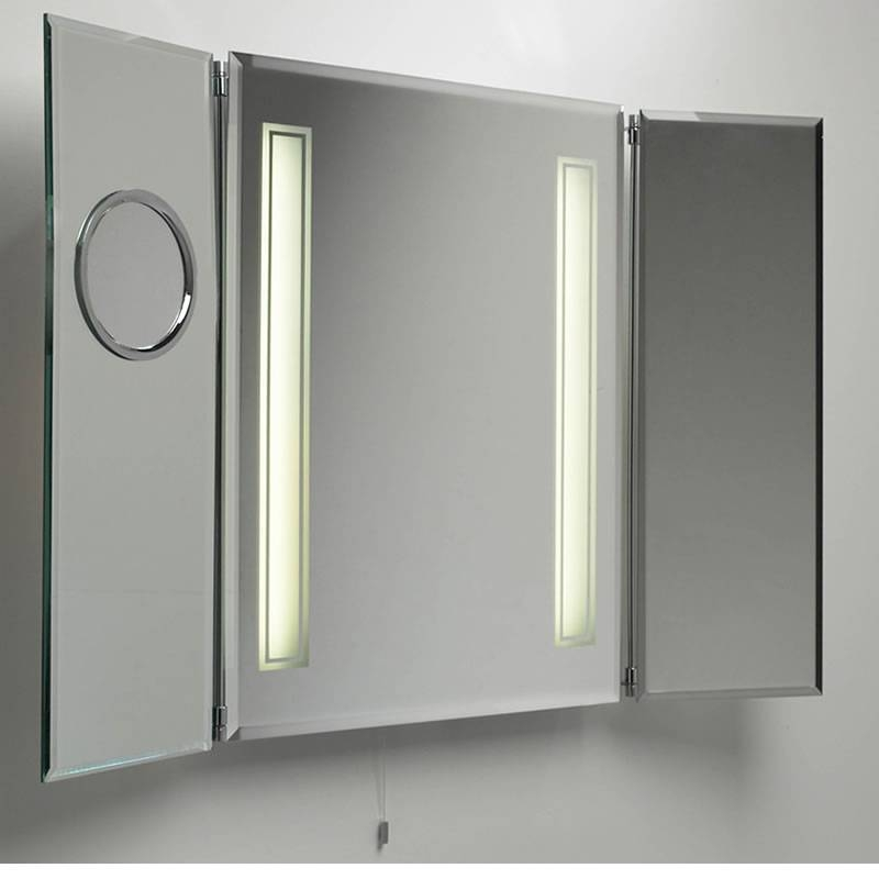 Bathroom Mirrors Medicine Cabinets With Lights Bathroom Medicine Within Bathroom Medicine Cabinets With Mirrors (#3 of 15)