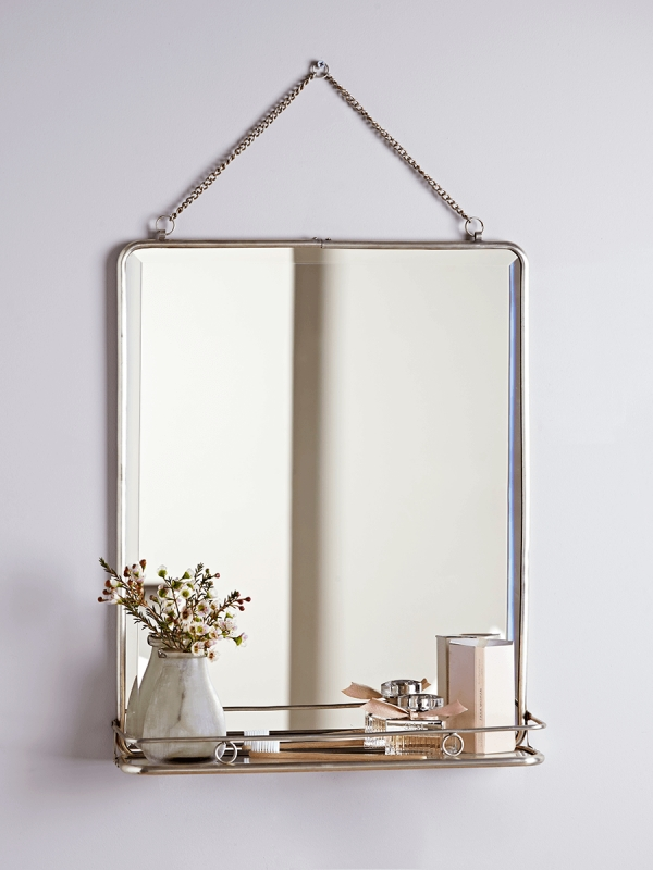 Bathroom Mirrors, Triple Folding Wall Vanity Mirrors For Bathrooms Uk Within Folding Wall Mirrors (#2 of 15)