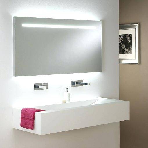 Bathroom Mirrors With Lightsbathroom Sinks Below Lighted Bathroom Pertaining To Mirrors With Lights For Bathroom (View 11 of 15)
