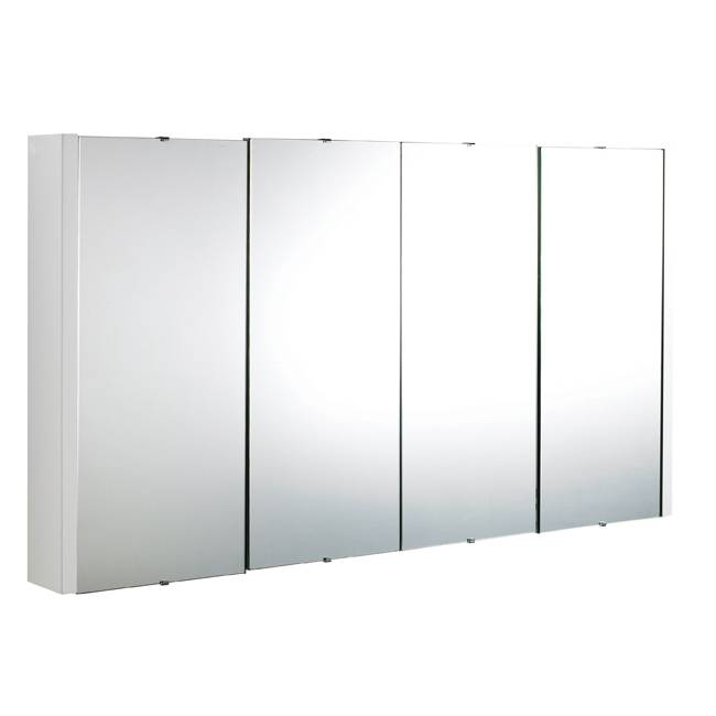 Bathroom Storage Cabinets With Mirrors Turin 1200Mm Bathroom Intended For Bathroom Wall Mirror Cabinets (#2 of 15)