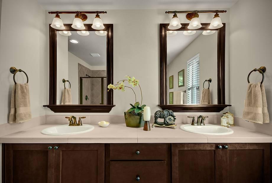 Bathroom Vanity Mirrors Type : Doherty House – Simple But Chic Throughout Bathroom Vanity Mirrors (#6 of 15)