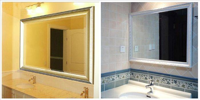 Bathroom Vanity Wall Mirrors,vanity Mirror Hollywood, Lighted Wall With Regard To Vanity Wall Mirrors (#3 of 15)