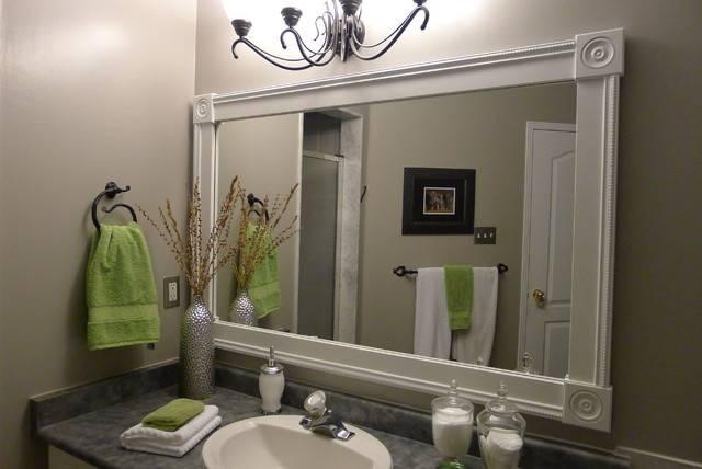 Popular Photo of Custom Bathroom Mirrors
