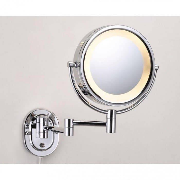 Bathroom Wall Mirror 5X 1X Extension Arm Wall Mirror : Highly Within Extension Arm Wall Mirrors (#7 of 15)