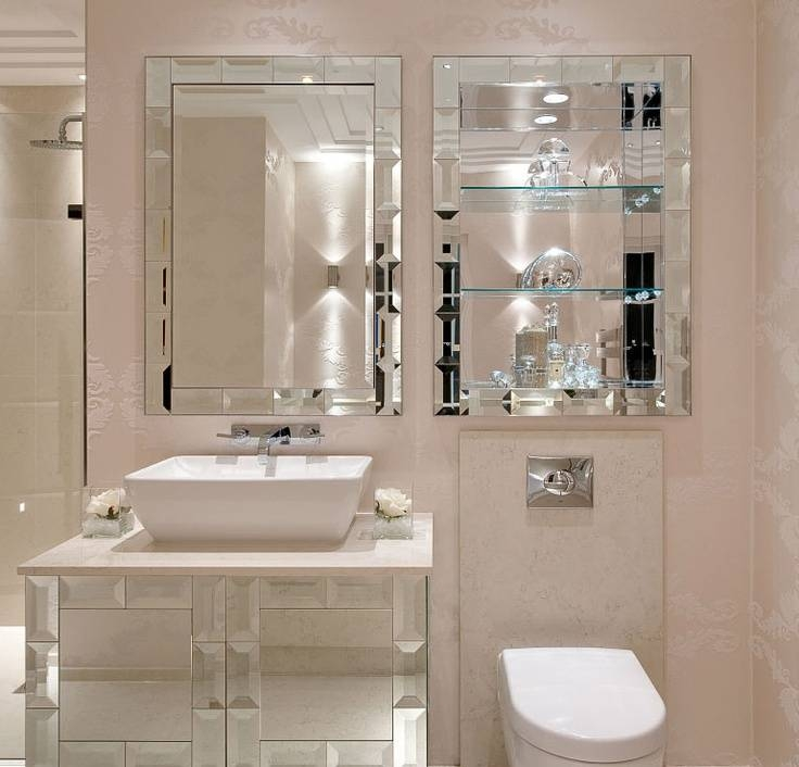 Bathroom Wall Mirror Styles For Sophisticated Private Room — Home For Wall Mirrors For Bathrooms (#2 of 15)