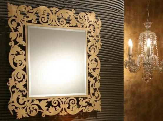 Bathroom Wall Mirrors | Homeexteriorinterior Pertaining To Italian Wall Mirrors (View 2 of 15)