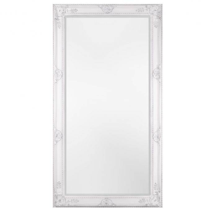 Bathrooms Design : Extra Large Mirrors Large Circle Mirror White Inside White Full Length Wall Mirrors (#2 of 15)