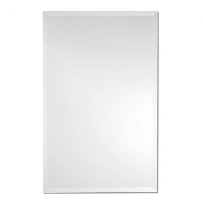 Bathrooms Design : Inexpensive Mirrors Frameless Wall Mirror Full Intended For Frameless Full Length Wall Mirrors (#2 of 15)
