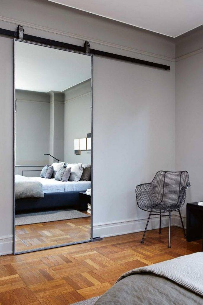 Viewing Photos of Large Wall Mirror Without Frame (Showing 4 of 15 ...