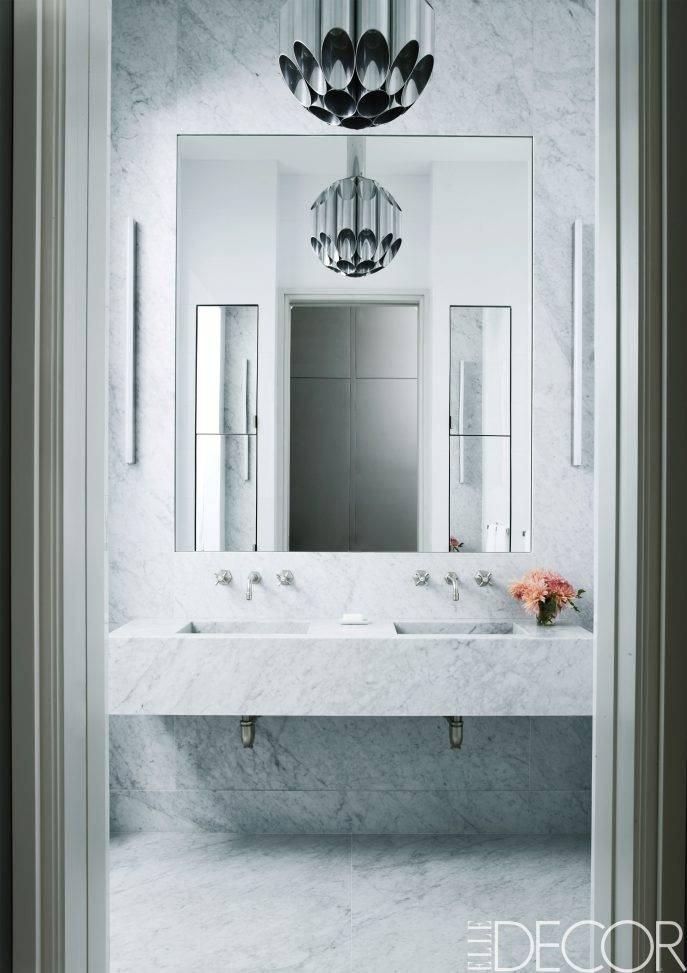 Bathrooms Design : Mirror Without Frame Large Frameless Bathroom Regarding Large Wall Mirrors Without Frame (#6 of 15)