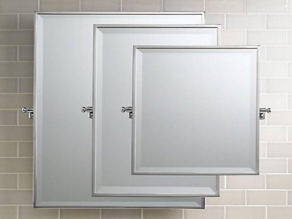 Bathrooms Design : Rectangular Vanity Mirror Pivot Bathroom Within Pivot Mirrors For Bathroom (#3 of 15)