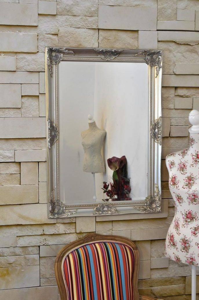Bathrooms Design : Small Round Mirrors Full Length Wall Mirror With Framed Full Length Wall Mirrors (#4 of 15)