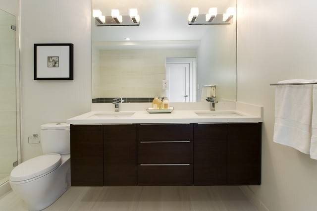 Bathrooms Inside Bathroom Mirrors Ideas With Vanity (#3 of 15)