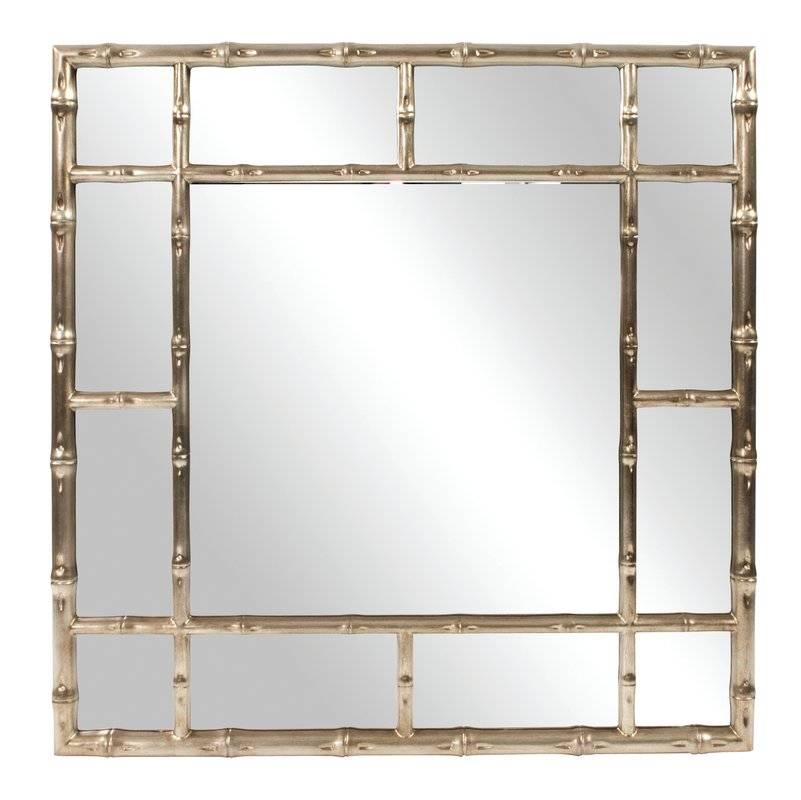 Bay Isle Home Gastonia Bamboo Wall Mirror & Reviews | Wayfair For Bamboo Wall Mirrors (#5 of 15)