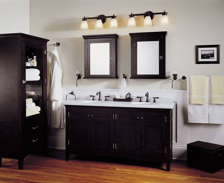 Beauteous 80+ Bathroom Vanity Lights And Mirrors Inspiration For Bathroom Lighting And Mirrors (#3 of 15)