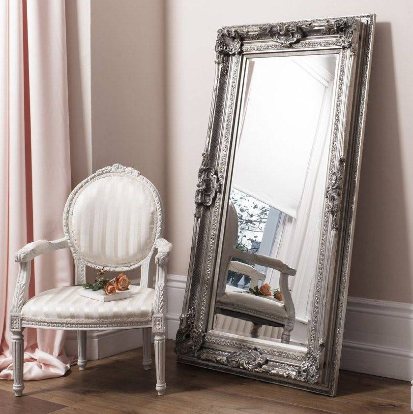 Beautiful Antique Design Silver Wall Mirror | French Mirror Company With Regard To Beautiful Wall Mirrors (#4 of 15)