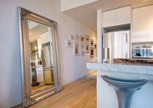 Beautiful Ways To Add Mirrors In The Kitchen Intended For Kitchen Wall Mirrors (#3 of 15)
