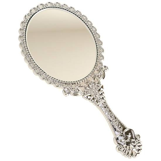 Beauty Cosmetic Vanity Makeup Hand Held Mirror Travel Purse Pocket Intended For Decorative Hand Mirrors (#6 of 15)