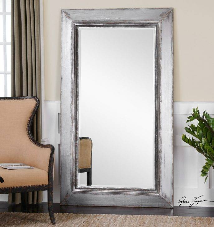 Bedroom Design Fabulous Big Full Length Mirror White Stand Up Within Cheap Stand Up Mirrors (#4 of 15)