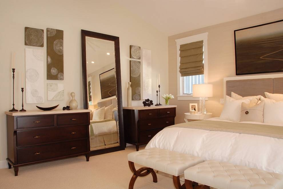 Bedroom : Extraordinary Wall Mirrors And 33 Modern Bedroom With Long Wall Mirrors For Bedroom (#2 of 15)