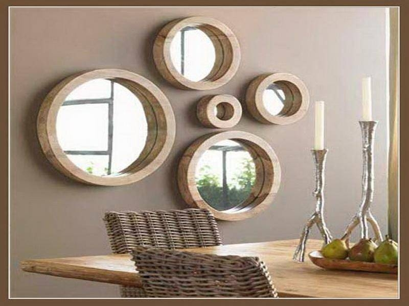 Bedroom : Nice Living Room: Unique Wall Mirrors For Living Room Within Unique Wall Mirror Decors (View 4 of 15)