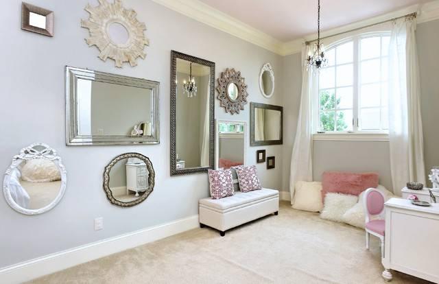 Bedroom Of Mirrors – Modern – Bedroom – Raleigh  Visual Inside Modern Bedroom Mirrors (#2 of 15)