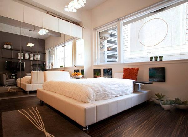 Bedroom : Trendy Modern Bedroom Decorating Ideas, Square Shaped Intended For Wall Mirrors For Bedrooms (#4 of 15)