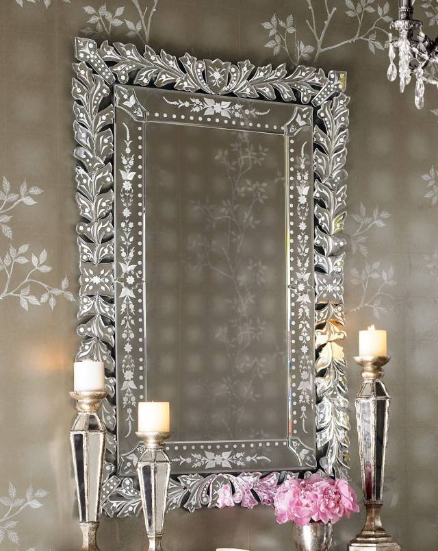 Bedroom Wall Mirrors Decorative – Interior4You For Decorative Cheap Wall Mirrors (View 4 of 15)
