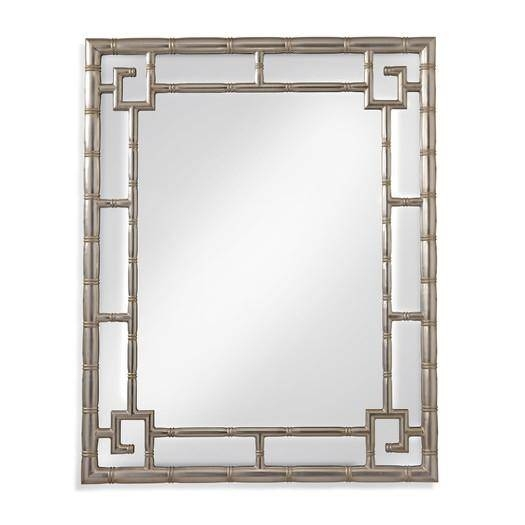 Popular Photo of Bamboo Framed Wall Mirrors