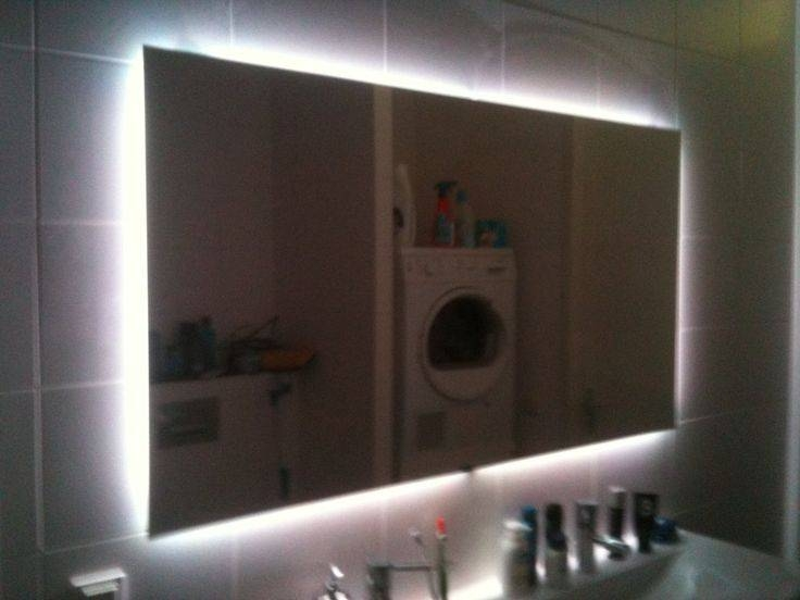 Best 25+ Backlit Bathroom Mirror Ideas On Pinterest | Backlit With Led Lit Bathroom Mirrors (#4 of 15)