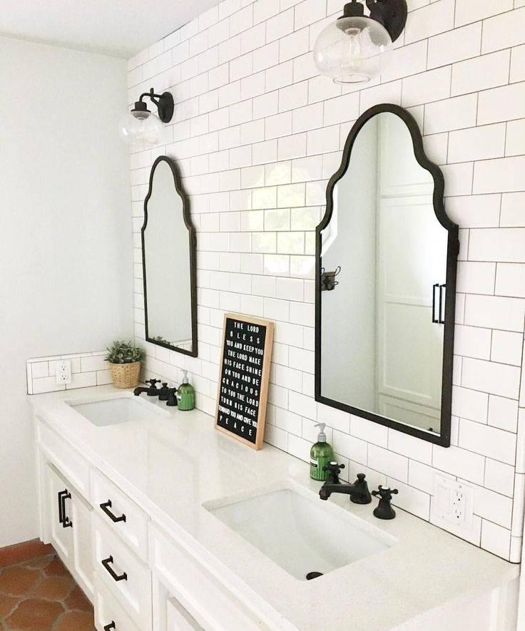 Best 25+ Bathroom Double Vanity Ideas On Pinterest   Double Vanity Throughout Double Vanity Bathroom Mirrors (#4 of 15)