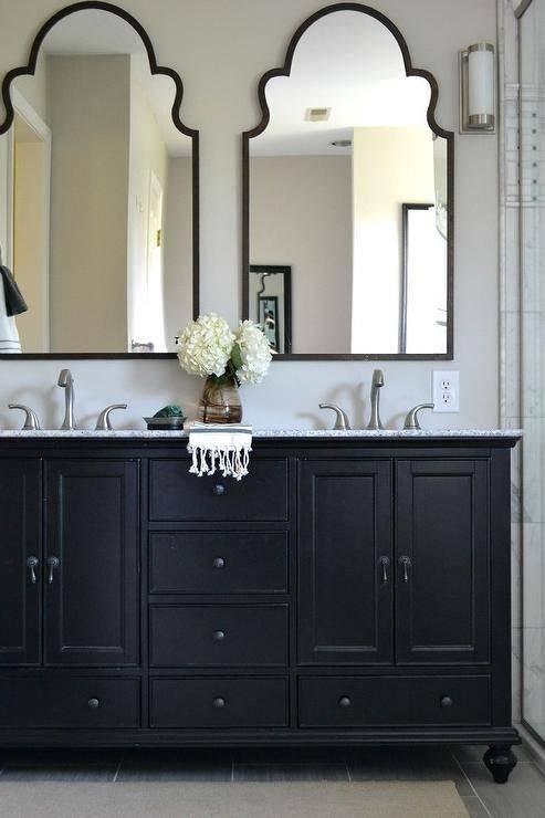 Popular Photo of Double Vanity Bathroom Mirrors