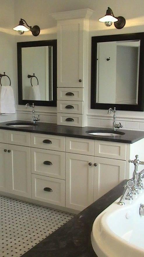 Popular Photo of Bathroom Vanity Mirrors With Medicine Cabinet