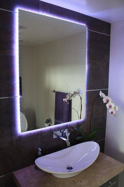 Best 25+ Bathroom Mirror Lights Ideas On Pinterest | Bathroom For Bathroom Mirrors With Led Lights (#7 of 15)