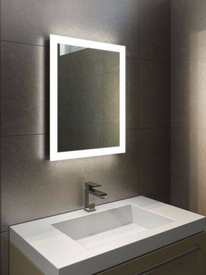 Popular Photo of Bathroom Mirrors With Led Lights