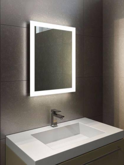Popular Photo of Led Lit Bathroom Mirrors