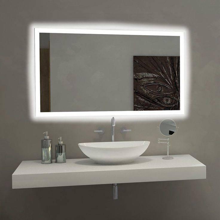 Best 25+ Bathroom Mirror Lights Ideas On Pinterest | Bathroom Regarding Contemporary Bathroom Wall Mirrors (#7 of 15)