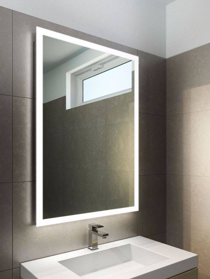Best 25+ Bathroom Mirror Lights Ideas On Pinterest | Bathroom With Regard To Backlit Wall Mirrors (#9 of 15)