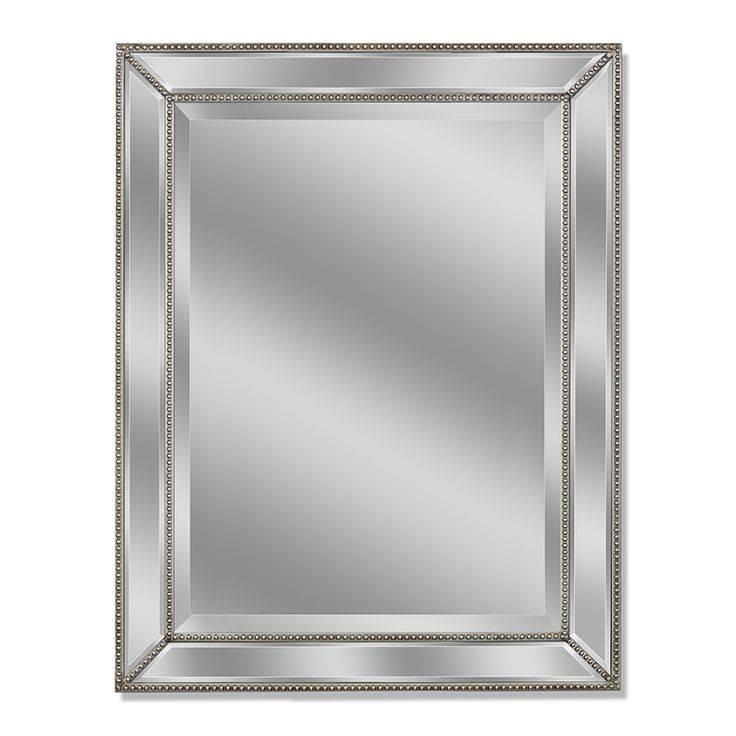 Best 25+ Bathroom Mirrors Ideas On Pinterest | Farmhouse Kids Inside Black Frame Wall Mirrors (#2 of 15)