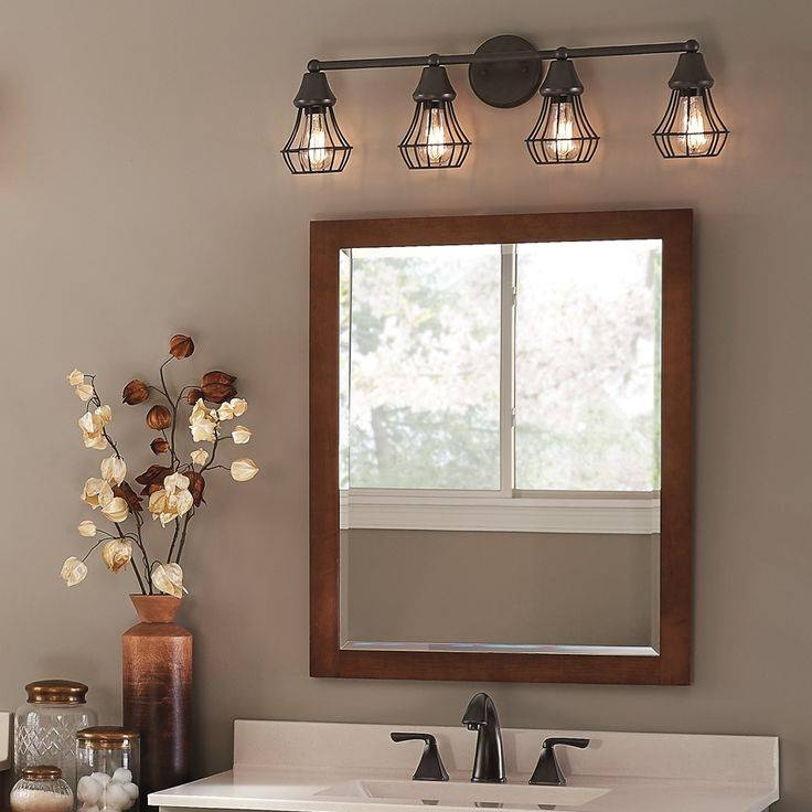 Best 25+ Bathroom Vanity Lighting Ideas On Pinterest | Framed Pertaining To Bathroom Lighting And Mirrors (#7 of 15)