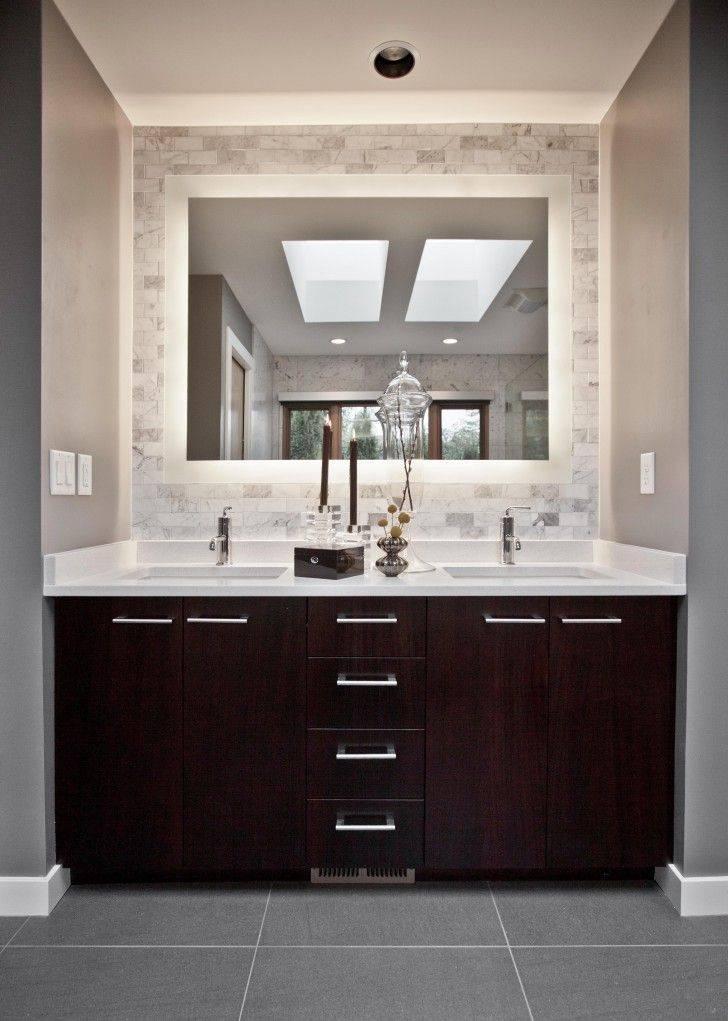 Best 25+ Bathroom Vanity Mirrors Ideas On Pinterest | Bathroom For Bathroom Mirrors Ideas With Vanity (#7 of 15)