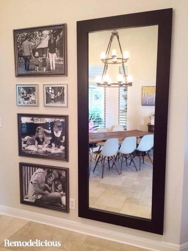 Best 25+ Big Wall Mirrors Ideas On Pinterest | Wall Mirror Ideas In Big Wall Mirror Decors (#4 of 15)